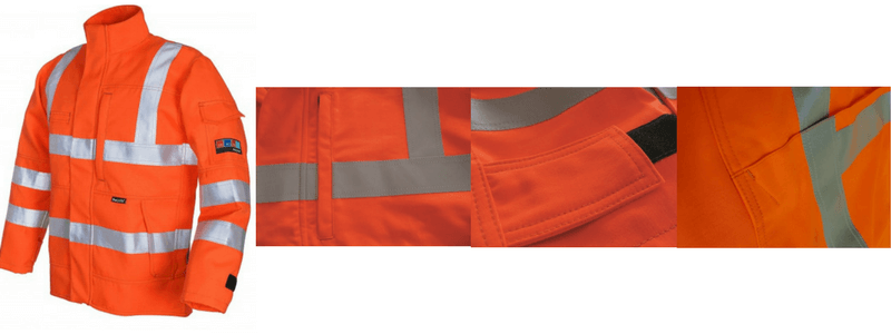 Arc Flash Jacket Category 2 10 Cal