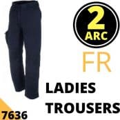 Arc Flash Ladies Trousers Category 2 9.5 Cal