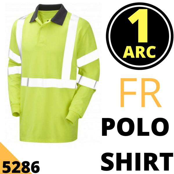 Yellow hi viz PROGARM 7418 ARC FLASH TROUSER Size 36R