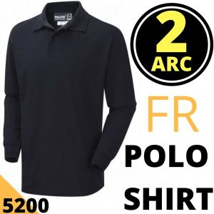 Arc Flash Polo Shirt Category 2 11 Cal