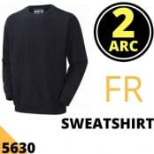 Arc Flash Sweatshirt Category 2 14.4 Cal