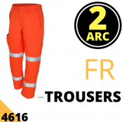Arc Flash Trousers Category 2 10 Cal Hi Vis Orange