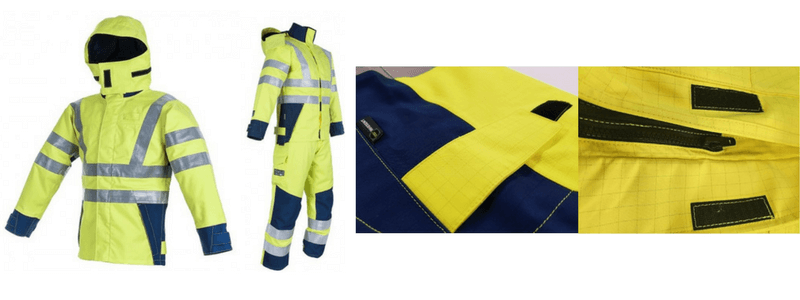 Arc Flash Waterproof Jacket Class 4 47 Cal