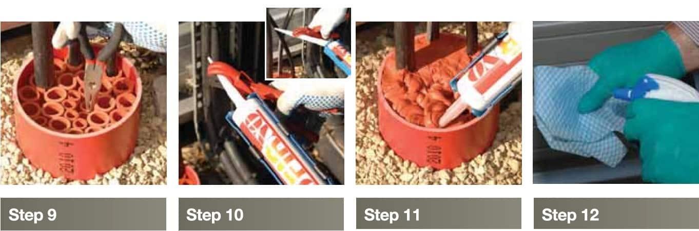 CSD NOFIRNO Duct Seals - Installation Instructions 3