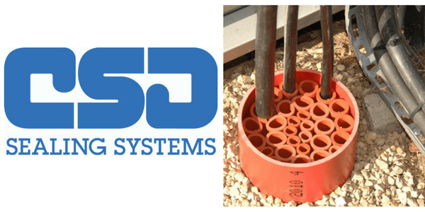 CSD NOFIRNO Duct Seals - Multi Cable & Pipe Transit Sealing
