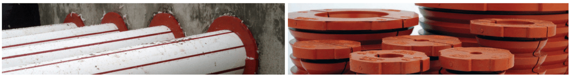 CSD SLIPSIL Waterstop Duct Seal Plugs - Wet Condition Duct Sealing