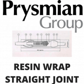 Low Voltage LV Industrial Cable Joints – Prysmian Resin Wrap Straight Joint