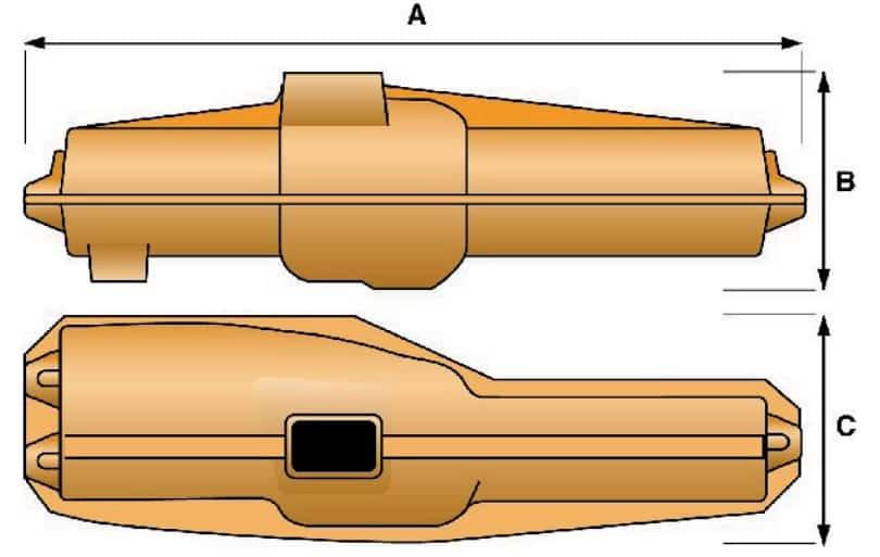 Prysmian FRZHMB LV Cable Joints - Dimensions