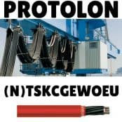 Protolon Cable (N)TSKCGEWOEU – Prysmian MV Medium Voltage Flexible Trailing Cables With Integrated Fibre Optics