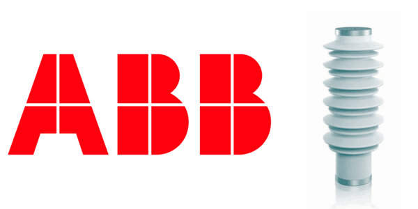 ABB POLIM-S..N MV HV Surge Arrester Line Discharge Class 3 AC Systems 72kV Indoor & Outdoor