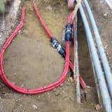 11kV Triplex Cable Joints Using Raychem Straight Heat Shrink Joints (UKPN)