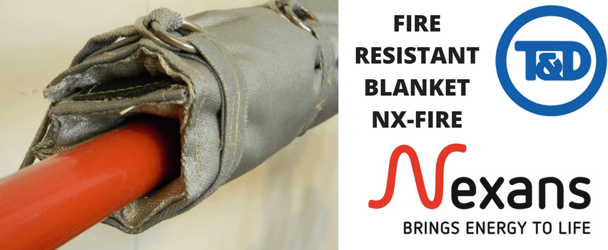 Fire Resistant Blanket - Nexans NX-FIRE