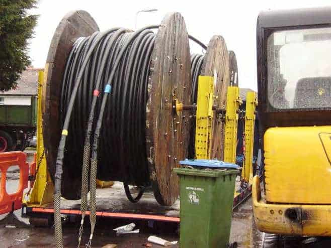 Cable Pulling Equipment A Cable Laying Duct