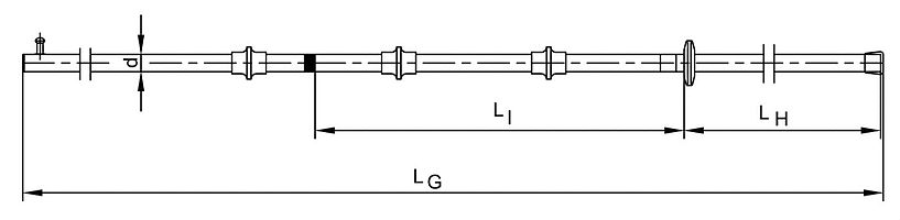 Switching Poles – Medium & High Voltage MV HV EHV Poles - Dimensions