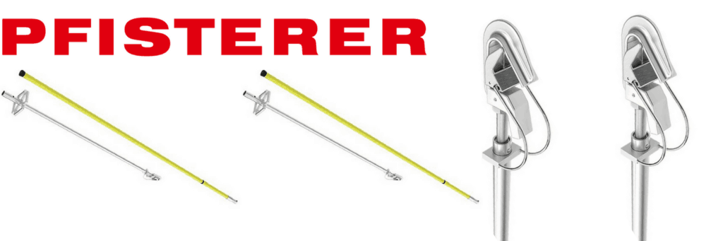 Two Piece Earthing Poles With Line Fixed Point