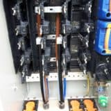 Waveform Cable Termination – 3 Core 300sqmm Cable Onto A 2 Ganged Metered Way In Lucy Cabinet