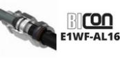 E1WF-AL16 Cable Glands Explosion Proof Ex d & Flameproof Ex e – Prysmian 455AA-51