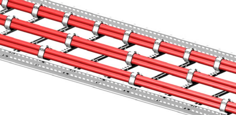 Trefoil Cable Cleats