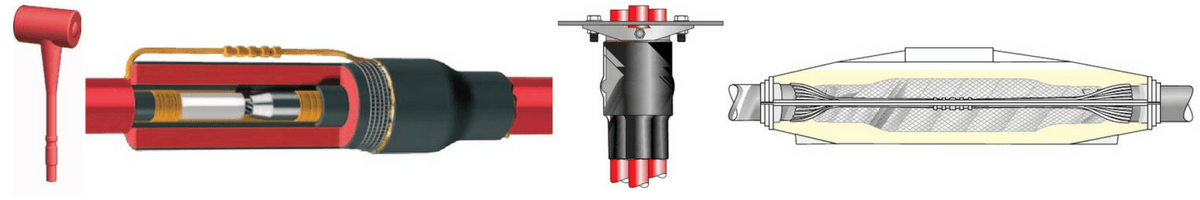 11kV Triplex Cable Joints & Cable Terminations Using Heat Shrink (BS7870)
