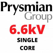 6.6kV Single Core XLPE 70sqmm BS6622 BS7835 Medium Voltage Cables