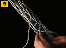 Cable Sock 5