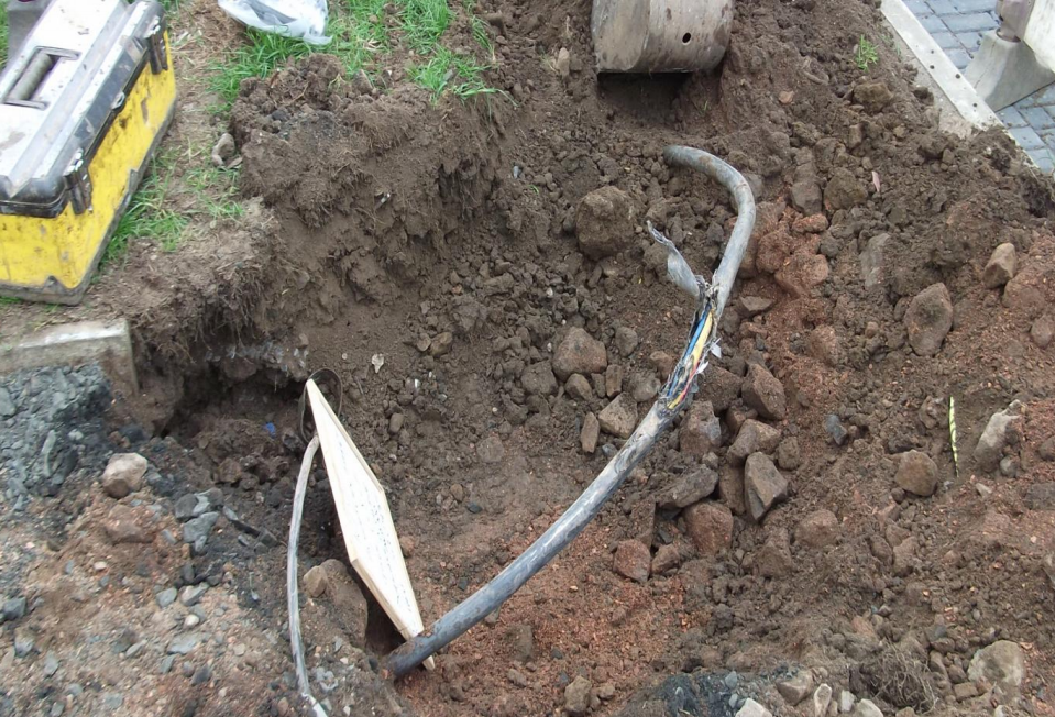 Low Voltage Cable Damage By Mini Excavator Strike