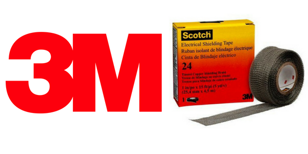 3M Scotch 24 Tape - Electrical Shielding Earthing Tape