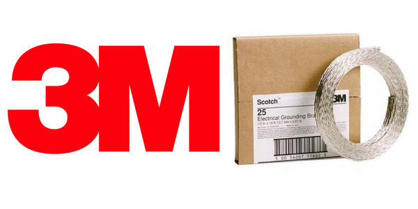 3M Scotch 25 Tape - Electrical Shielding Earthing Tape