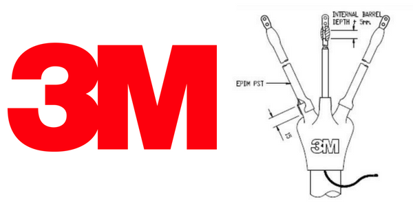Cold Shrink Cable Terminations - 3M LCT