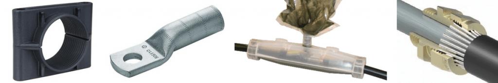 Ellis Cleats   Cembre Lugs   3M Scotchcast Joints   Prysmian Glands – Low Voltage Cable Accessories
