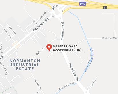 Nexans map