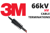 66kV Cable Terminations | 3M QTEN Cold Shrink High Voltage Cable Terminations HV