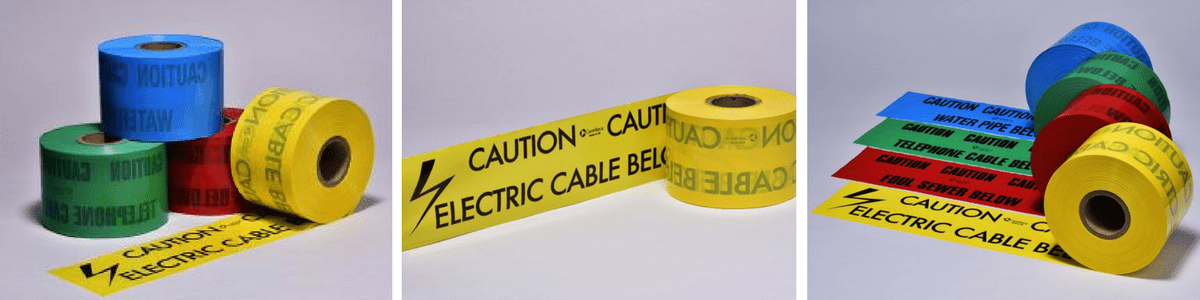 Underground Cable Warning Tapes - Centriforce Utility Protection
