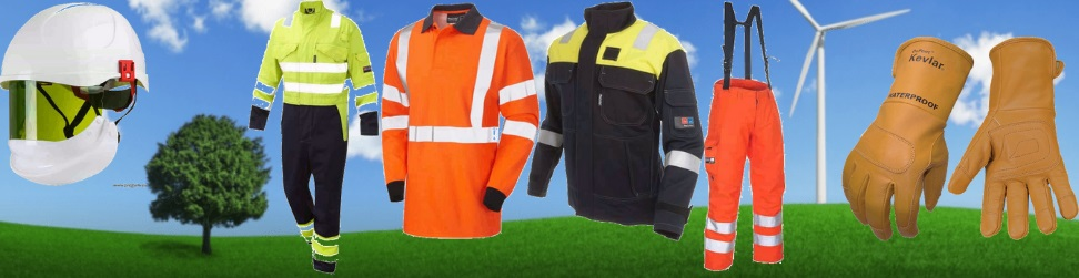 Arc Flash Clothing & Protection For Safe Windfarm & Wind Turbine Working