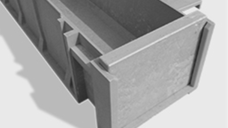 TTS Rail (Trough-Tec Systems) TTS 300 is nearest dimensionally to the traditional C/1/29 concrete size, and is suitable for ground installation.