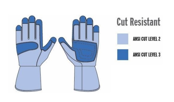 Cut Resistant Arc Flash Gloves