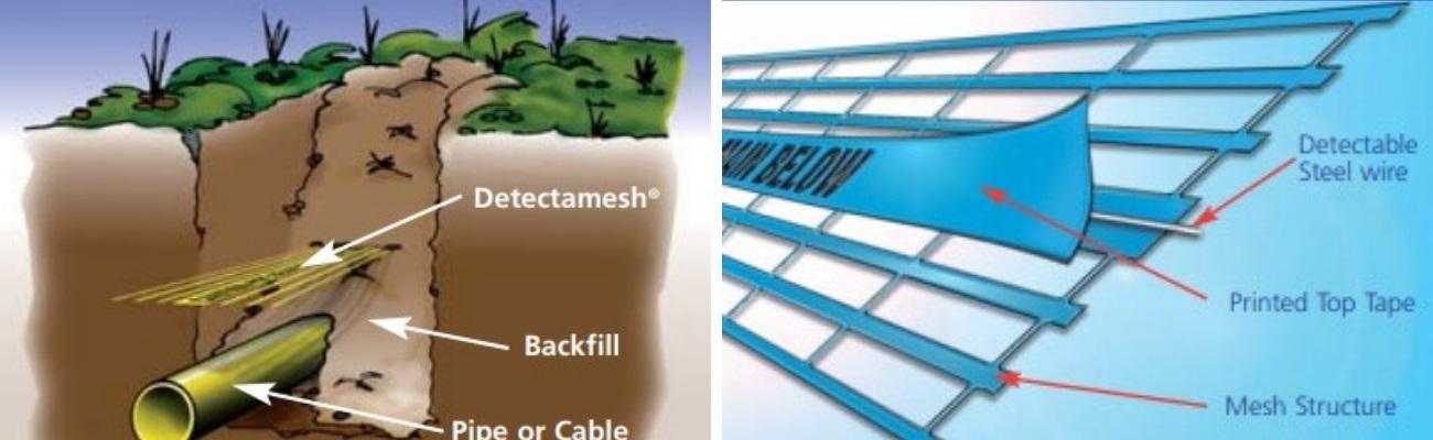 Detectamesh Detectable Mesh Installation