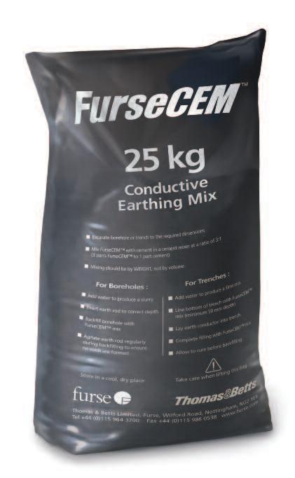 FurseCEM Earthing Conductive Aggregate Concrete