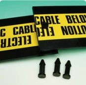 Plastic Cable Protection Covers & Buried Electrical Cable Tiles
