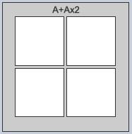 A x A x 2 Frame