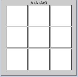 A x A x A x 3 Frame