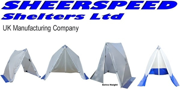 Cable Jointers Tents | Triangle Style Speed Tent For Cable Jointing LV HV
