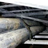 """Using """"Heat Shrink Wraparounds"""" To Repair High Voltage Transmission Cables In Underground Cable Vault"""