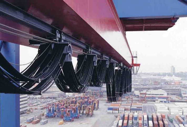 Conductix Flexible Cables In The Shipping Industry