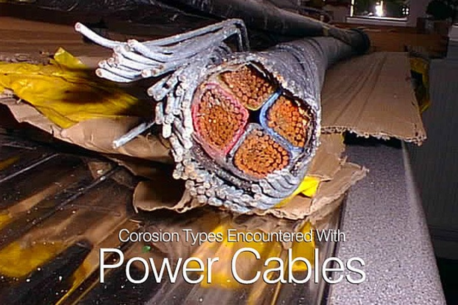Corrosion Types Encountered With Power Cables