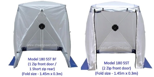 Square Cable Jointers Tents - Zip Options