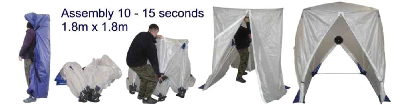 Square Style Speed Tent For Cable Jointing LV | Quick & Easy To Assemble