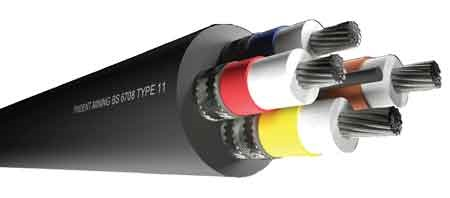Type 11 Trailing Cable (Mining) - 3M Scotchcast 3M 82-F2 Cable Joints