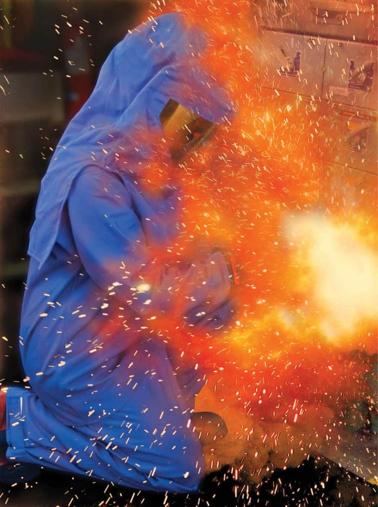 """30,000 Arc Flash Incidents per year"" Source: ISHN"