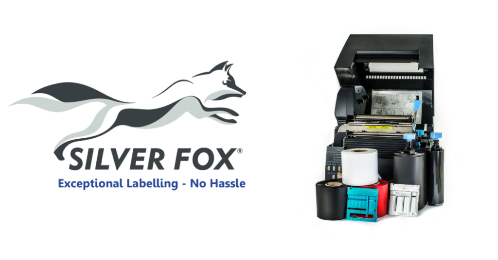 Silver Fox Fox-in-a-Box Thermal Printer Cable Labelling Starter Kit